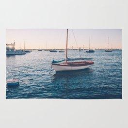 Sitting Sailboat Rug