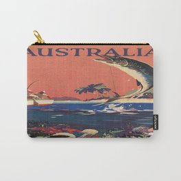 Vintage poster - Australia Carry-All Pouch