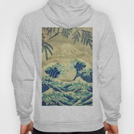 The Great Blue Embrace at Yama Hoody