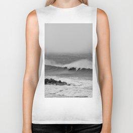 Storm over the sea coast. Biker Tank