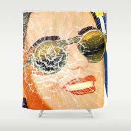No Time For Change. Shower Curtain