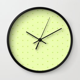 In the Green Wall Clock