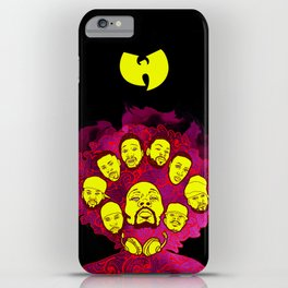 Wu-Tang Purple Haze iPhone Case