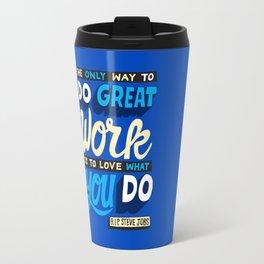 RIP Steve Jobs Travel Mug