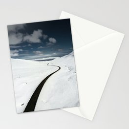 westfjords aerial view Stationery Cards