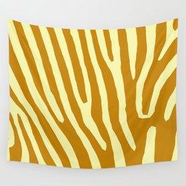 Chocolat Zebra Wall Tapestry