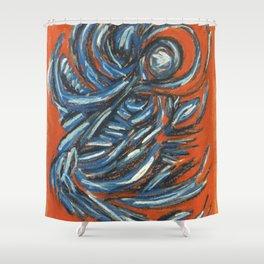 Dancing Spirit Shower Curtain