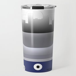 Lexington - LEX - Airport Code and Skyline Travel Mug