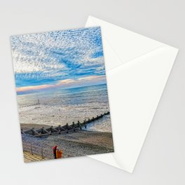 Watching The Sea Stationery Cards