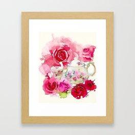 Tea 2 Framed Art Print
