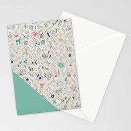 Pez Otomi mint by Ana Kane Stationery Cards