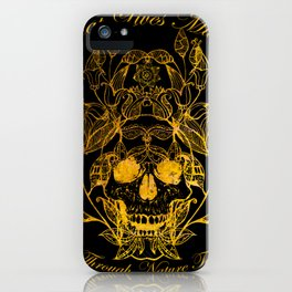All That Lives iPhone Case