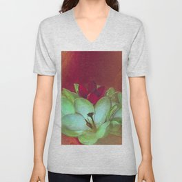Crocus Abstract Unisex V-Neck