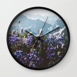 Mountain Meadows Wall Clock