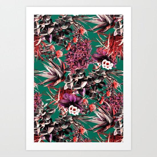 Exotic Garden III Art Print