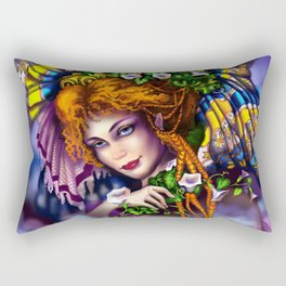 Fairy love and magic Rectangular Pillow
