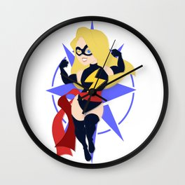 The Marvelous Woman Wall Clock