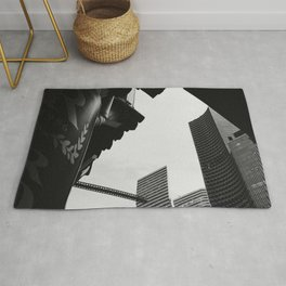 A Different Perspective || black and white architecture photography || SINGAPORE Rug