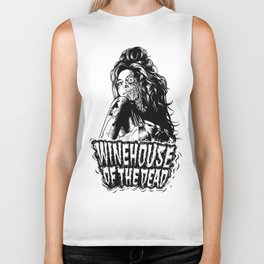 Winehouse of the dead Biker Tank