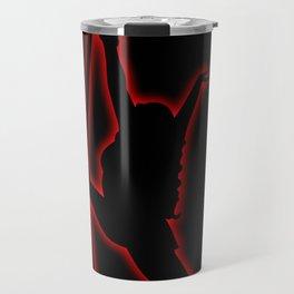 Neon Aerial #1 Travel Mug