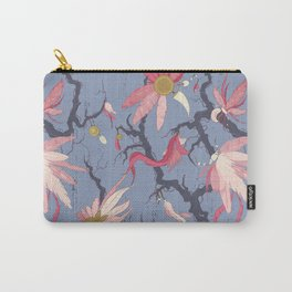Feathers and charms pattern Carry-All Pouch