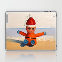 Orange at the Beach Laptop & iPad Skin