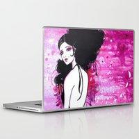 madrid Laptop & iPad Skins featuring Madrid by Leilani Joy