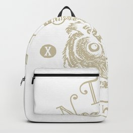Owl for people who like animal, wild life and nature  Backpack