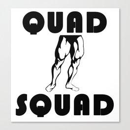 Quad Squad Canvas Print