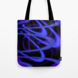 Purple Grooves Tote Bag