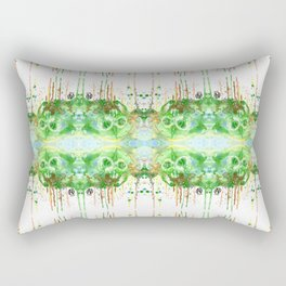 Colors Skull Rectangular Pillow