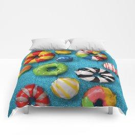 Carnival Donuts Comforters