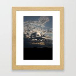 Through to the Heavens Framed Art Print