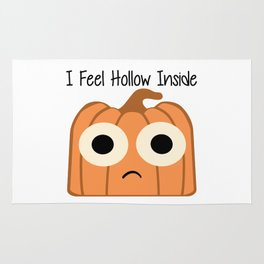 I Feel Hollow Inside Rug