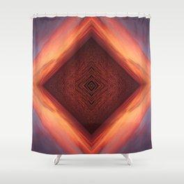 Sea Vortex Shower Curtain