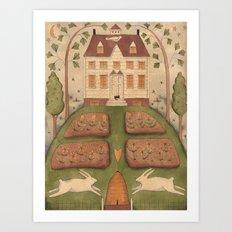 Bunny Hill Art Print