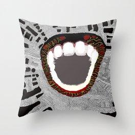 We Bite Throw Pillow