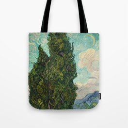 Cypresses - Van Gogh Tote Bag