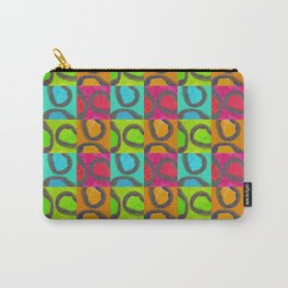 squares & curls Carry-All Pouch