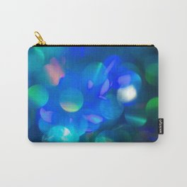 Bokeh in Blue Carry-All Pouch