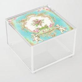 French Baroque Patisserie Tea Acrylic Box