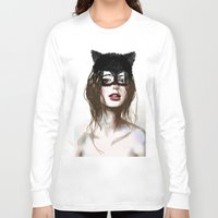 superheroes Long Sleeve T-shirts featuring Superheroes SF by Dnzsea