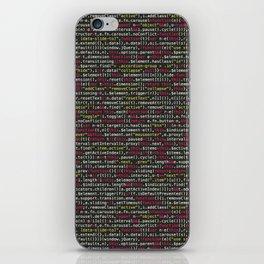Developer's Terminal Pattern iPhone Skin