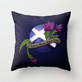 Failing Means You're Playing Throw Pillow