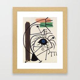 Joan Miro Danseuse 1931 Artwork for Prints Posters Tshirts Men Women Kids Framed Art Print