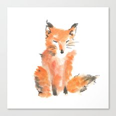 Slightly foxed Canvas Print