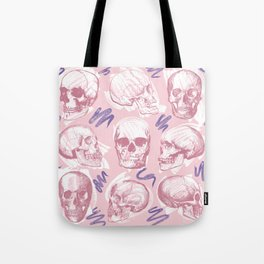 Fondant Skull Pop Pattern Tote Bag
