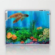 UnderSea with Turtle Laptop & iPad Skin