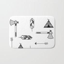 Pattern: Indian icon Bath Mat