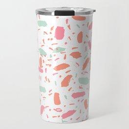 Bessie - abstract minimal modern gender neutral trendy painting dorm college office decor Travel Mug